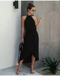 Свободна рокля в черно - код 100