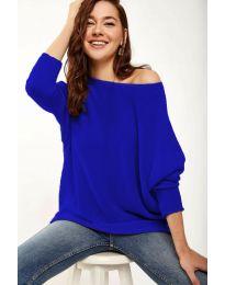 Дамска блуза в синьо - код 831