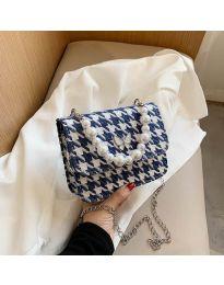 Дамска чанта в синьо - код B85