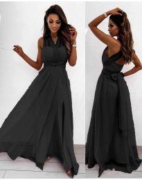 Дълга рокля в черно - код 2011