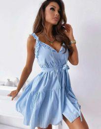 Феерична рокля в светлосиньо - код 0710