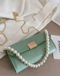 Дамска чанта в цвят мента - код B472