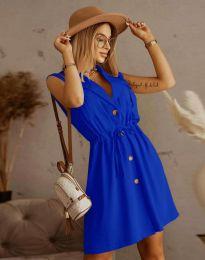 Елегантна рокля в синьо - код 2702