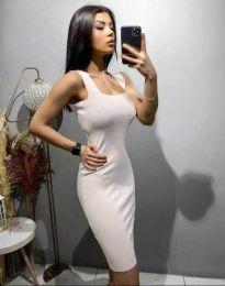 Дамска рокля в бяло - код 10300