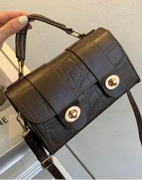 Дамска чанта в тъмнокафяво - код B336