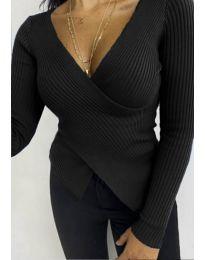 Дамска блуза в черно - код 6322