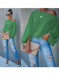 Дамска блуза в зелено - код 5151