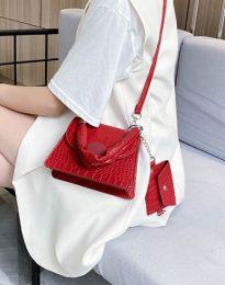 Дамска чанта в червено - код B427