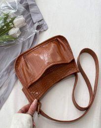 Дамска чанта в кафяво - код B573