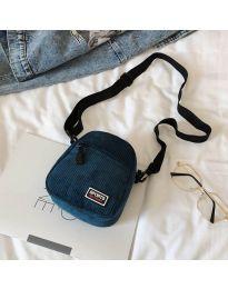 Дамска чанта в цвят тюркоаз - код B73