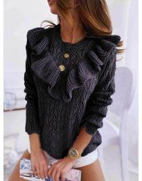 Елегантна дамска блуза в черно - код 790