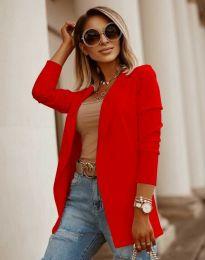 Дамско сако в червено - код 2365