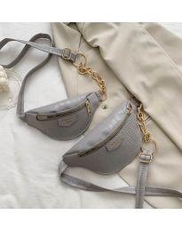 Дамска чанта в сиво - код B26/192