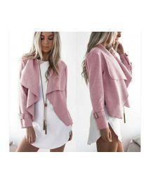 Дамско яке в розово - код 4033