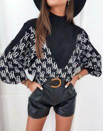 Дамска блуза в черно - код 3829