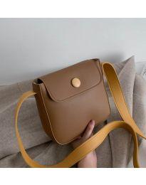 Дамска чанта в кафяво - код B76
