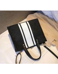 Дамска чанта в черно - код B103 - 2