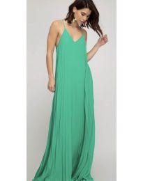 Свободна дълга рокля в зелено - код 0508