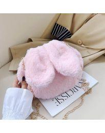 Дамска чанта в  розово - код B39