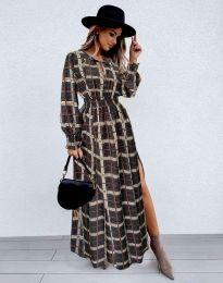 Ефектна дамска рокля - код 5194 - 5