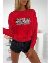 Дамска блуза с принт - код 3994