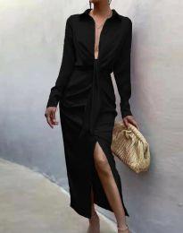 Елегантна рокля в черно - код 6459