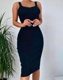Дамска рокля в черно - 10122