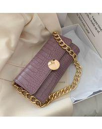 Дамска чанта в лилаво - код B47