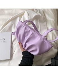 Дамска чанта в лилаво - код B526