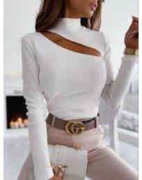 Елегантна блуза в бяло - код 11490