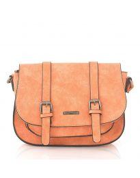 Дамска чанта в оранжево - код 91866