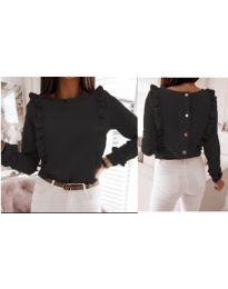 Дамска блуза в черно - код 4171