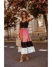 Дълга феерична рокля в черно - код 697 - 2