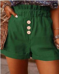 Къси панталонки в зелено - код 9383