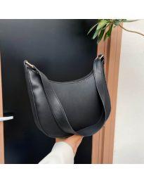 Ефектна дамска чанта в черно - код B531