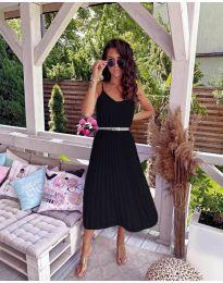 Феерична рокля в черно - код 716