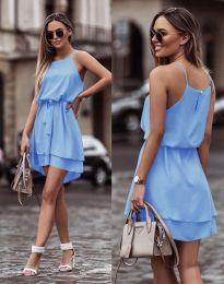 Феерична рокля в светлосиньо - код 2104