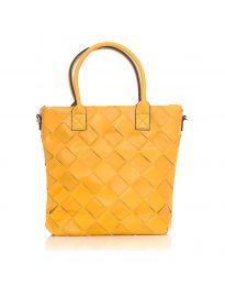 Дамска чанта в цвят горчица - код LS594
