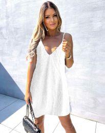 Дамска рокля в бяло - код  4189