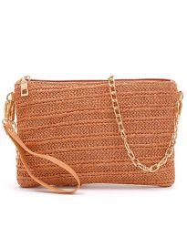 Дамска чанта в кафяво - код B463
