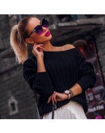 Блуза - черно - код 957
