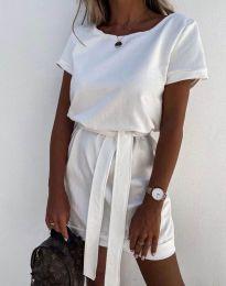 Дамска рокля в бяло - код 6737
