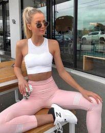 Дамски спортен комплект в розово - код 9901