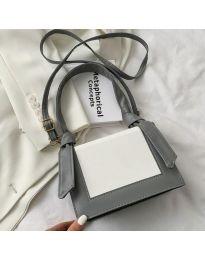 Дамска чанта в сиво - код B574