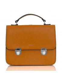 Кафява дамска чанта - LS567