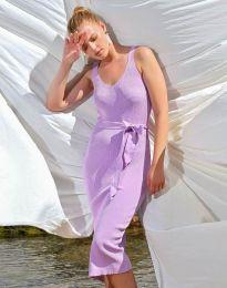 Дамска рокля в лилаво - код 2721