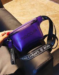 Дамска чанта в лилаво - код B291