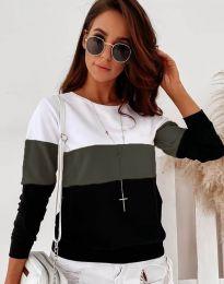 Ефектна дамска блуза - код 9966 - 1