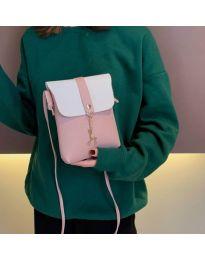 Дамска чанта в розово - код B72