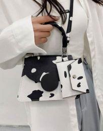 Дамска чанта с атрактивен десен - код B446 - 2